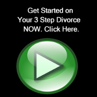 Get Started on Your Three Step Uncontested Divorce